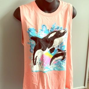 WILDFOX muscle tee